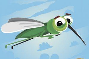 komáří štípnutí